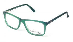 Dámske plastové zelené dioptrické rámy 0332