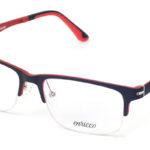 Unisex plastové červeno – čierne dioptrické rámy 0631 1