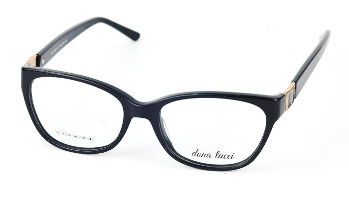 Dámske čierne dioptrické okuliare