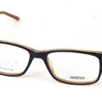 Pánske čierno hnedé dioptrické okuliare 0834