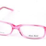 Dámsky plastový ružový dioptrický rám 0809