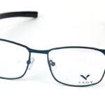Pánske kovové zelené dioptrické okuliare 0841